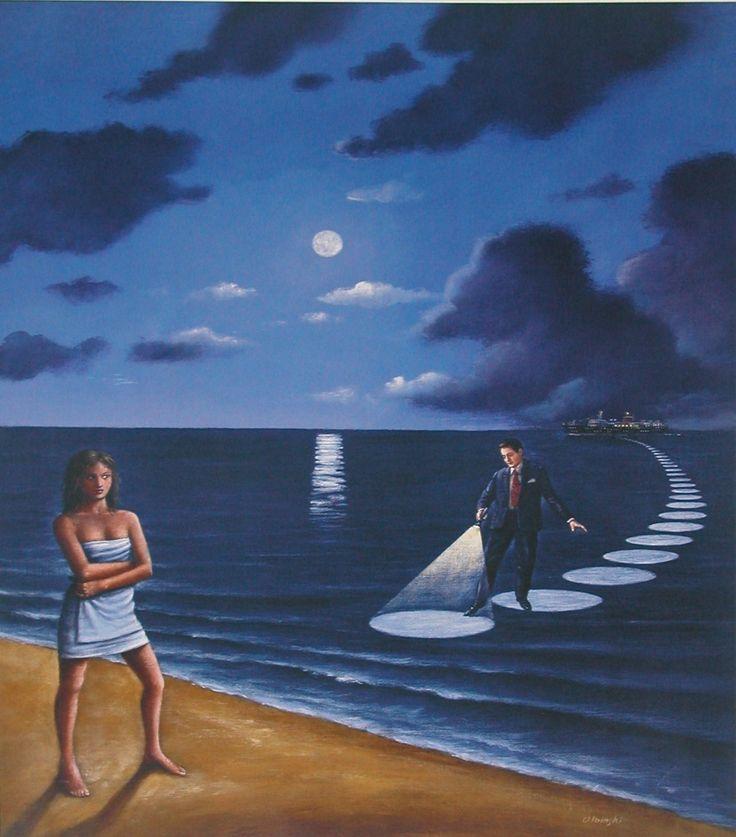 Thế giới Tình yêu - Page 3 92453d5e006182f83a9309347d4b31d0-surrealism-art-artists