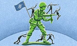 Motsetningene innad i Nato - det største imperialistiske leieren forsterkes og utdypes.