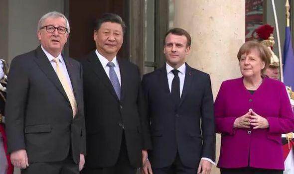 Møtet nylig mellom Kinas XI og topplederne i EU må oppfattes som en krigerklæring overfor USA.