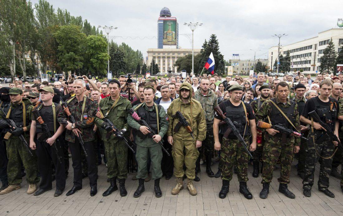 Det nærmer seg gjenforening av Russland og Donbass.