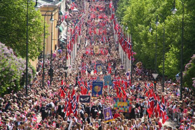 17. mai er det Norge og norsk selvstendighet som skal feires.