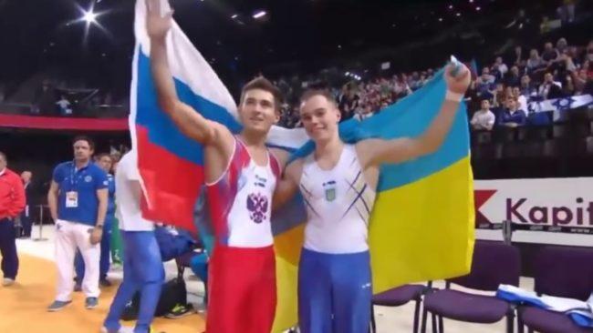 En TV-sending som fremhever vennskapet mellom de to landene er blitt svært populær - også i Ukraina.